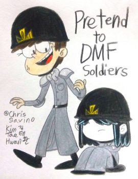 Luna and Lucy,the Dark Mate Soldiers by komi114