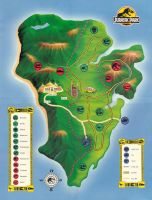 jurassic park map by chicagocubsfan24