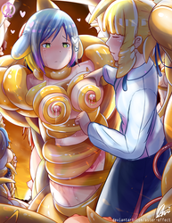 Distressland: Mrin and Emily Tentacles Quest 1/2 by Aster-Effect