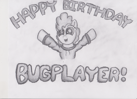 Gift for Bugplayer by Pencil-Stub