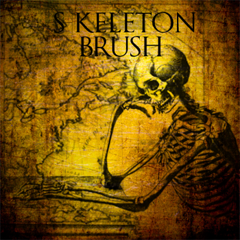 Skeleton brush by minkmonk