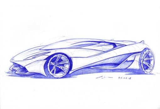 Supercar nr. 10 by grote-design