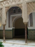 Stock: In the Alcazar by hippo2