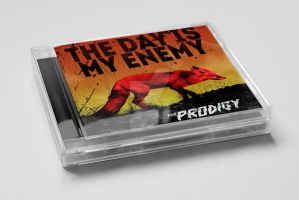 Alternate cover -The day is my enemy- The Prodigy by le-rat-et-l-ours