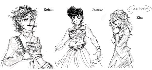 JoJo - Part 4 Gender Bender by FerioWind