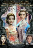 Doll Repaint Beauty and Beast Belle n Prince Adam by noeling