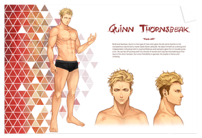 Antologiya: Quinn Thornsbeak by juhaihai