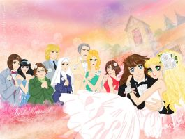 Candy and Terry wedding by mercuryZ