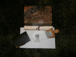 Another Ex Libris Stamp by Ishtar-Creations
