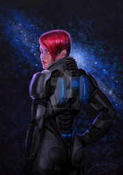 Shepard - Commission by jadenwithwings