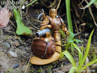 Warsnail 3D printed action figure  B by hauke3000
