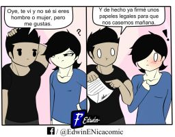 Me Caso by E-Nicacomic