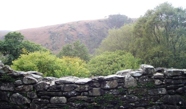 Stone wall by GoblinStock
