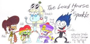 The Loud House x Spookiz! by komi114
