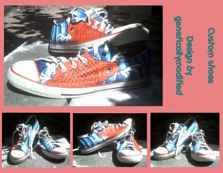 Custom shoes by geneticallymodified