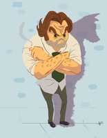 Bigby Wolf by Andromation