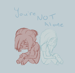 Not Alone by lazygout