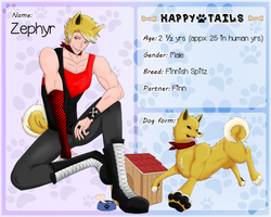 Happy Tails|Zephyr by Flareonsk8r
