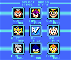 MegaMan Sel. Scrn Final -DL- by BlueFirez88