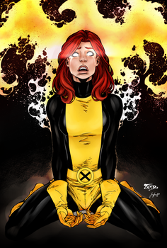 Jean Grey by Sorathepanda