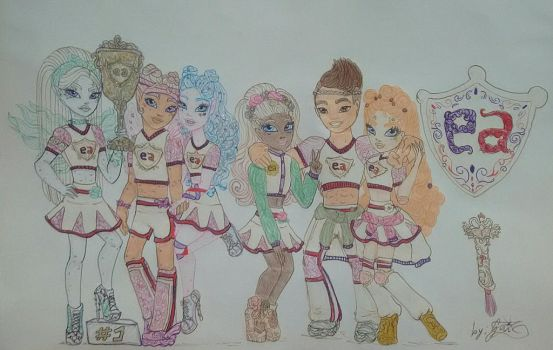 Cheerhexers - Team Ever After High by GuiZSTAR
