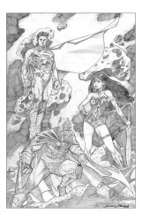 Justice League Trinity by duanenicholsart