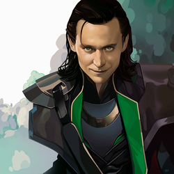 God of Mischief by KarmaLizzard