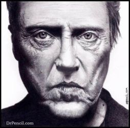 Christopher Walken by Doctor-Pencil