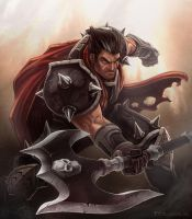 League of Legends - Darius (classic) by madmagnus