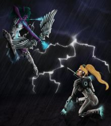 Lightning Assault - Heroes Of The Storm by annaluci