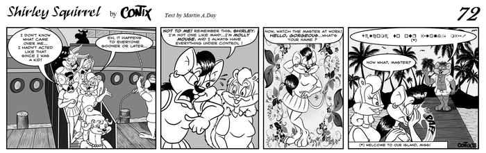 Shirley Squirrel - strip 72 - ENG by Contix