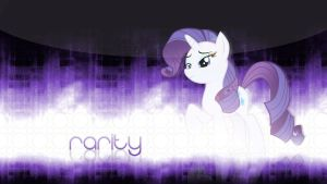 Rarity Wallpaper by ImLaddi