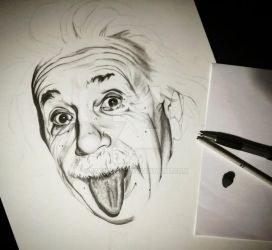 Einstein - WIP by emicathe