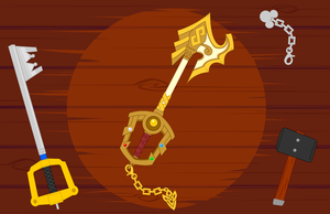 My Keyblade Design - Seal of Emblem by Dragon-FangX