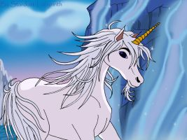 Terence the Unicorn by Stardust-Phantom