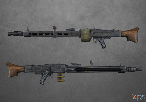 Medal of Honor Airborne - MG42 by Bringess
