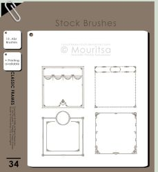Brush Pack - Classic Frames by iMouritsa