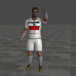 My Custom Johnny Cage Soccer Uniform by Monokhrome18870