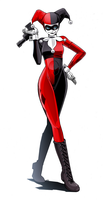 Harley Quinn 4 by LONEOLD