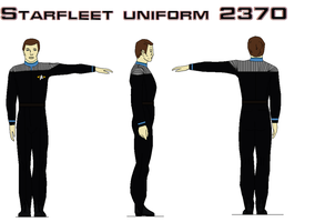 Starfleet uniform 2370  Sciences by bagera3005