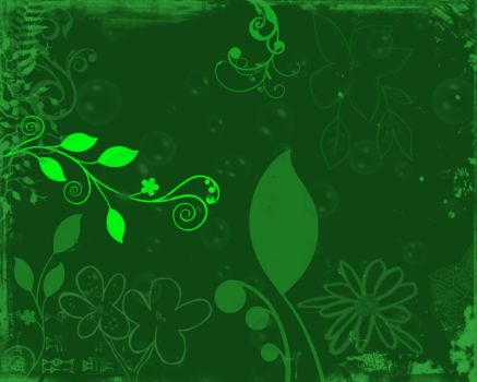 Wallpaper green by Phatestroke