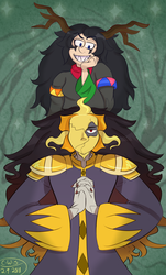 Two Magical Corrupted folks by CutieWinterSnow