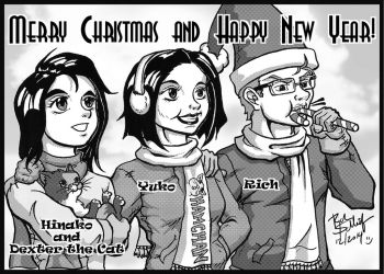 Merry Christmas 2014 by Komikino