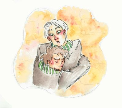 Albus and Scorpius by Voodoo-kiss