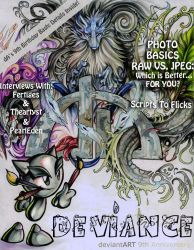 DEVIANCE Magazine August 2009 by DEVIANCE-ZINE