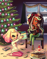 Splatoon 2 Christmas (12 15 2017) by theskywaker