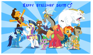 Happy Stallions' Day by AndoAnimalia