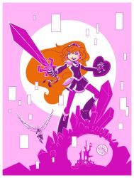 Amethyst: Princess of Gemworld by mikemaihack