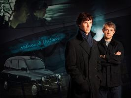 Holmes and Watson by Serenity-S