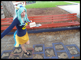 (MLP) Lyra Heartstrings Plays HopScotch! (Cosplay) by KrazyKari